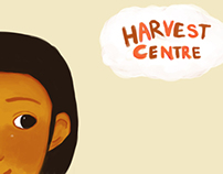 Illustrated story book project for Harvest Centre KL