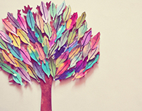 Tree Paper Illustration