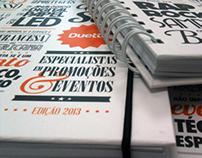 cadernos duetto 2013