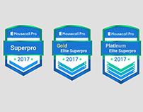 Badge Design - Housecall Pro