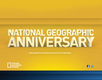 NATIONAL GEOGRAPHIC ANNIVERSARY