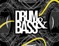 drum and bass poster