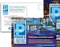 Parking at Penn's Landing - Marketing Collateral