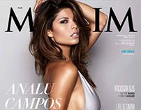 Analu Campos MAXIM Italy