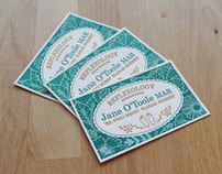 Reflexology cards
