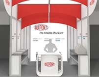 Exhibition stand for DuPont