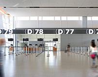 Wayfinding at CALGARY AIRPORT