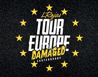 Tour Europe - L. Rojas - Team skate Damaged