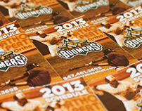 Schaumburg Boomers 2013 Pocket Schedules