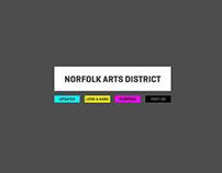 Norfolk Arts District Promo Website