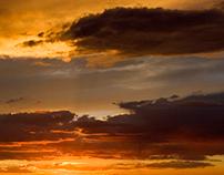 SUNRISE, SUNSET BY SCOTT HILE / FREE SPIRIT FINE ART