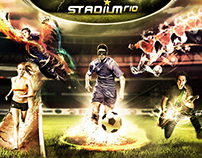 Stadium Rio - Website & ID Visual