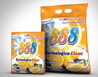 888, Ultra Washing Powder & DNA Salt