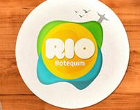 Botequim Rio - Criação de Logo
