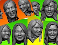 bobblehead sculpts