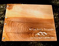 "Standard 14"" x 11"" Portfolio - Birch Wood"