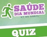 Quiz e Dicas - Dia Mundial da Saúde - SENAC