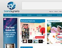 Brandsynario.com UI Design
