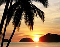 Sunrise @ Isla Grande (Panamá)