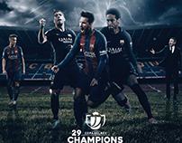 Copa Delrey Cup 2016/17 Champions