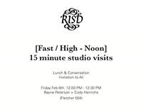 [fast | high - noon] studio visits