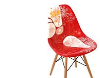 Plataforma K chair Illustration
