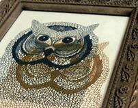 Risograph Prints- Owl