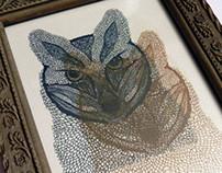 Risograph Prints: Fox