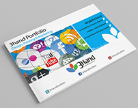 3Hand for Design & Marketing Solution Services Brochure