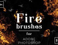 Fire Photoshop Brushes