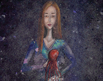 Girl with an Octopus