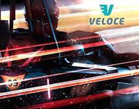 Veloce Indoor Speedway (3D Illustrations)