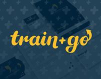 Train+Go Branding