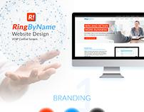 RingByName Website Design