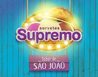 São João - Sorvetes Supremo
