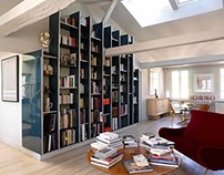 Apartment in Paris by Régis Larroque