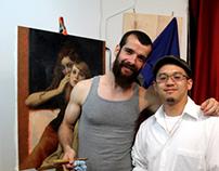 Me and Cesar Santos