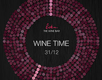 New Year's posters for wine bar