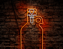 Growler Neon - MondoCeram Beer