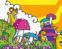 hongos y tentaculos