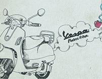 Vespa  |  Poster