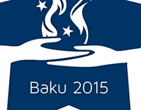 Baku 2015 - First European Games logo version