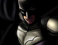 Batman Begins- Digital Paint