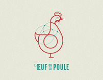 L'Œuf ou la Poule — Branding