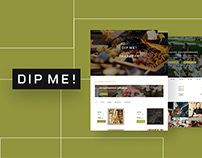 DIP ME! Website Design