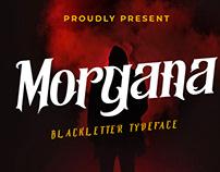 Morgana   Display Font