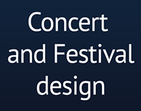 Concert and Festival design