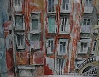 Naples Street Scenes-Exhibition Work