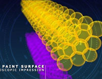 Microscopic 3d animation and motion graphics