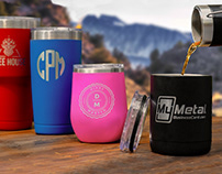 Custom Metal Tumblers Personalized with your Logo